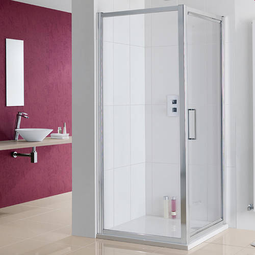 Additional image for Narva Shower Enclosure With Pivot Door (1000x700x2000)