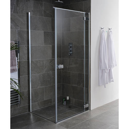 Additional image for Grenada Frameless Shower Enclosure (900x700x2000).