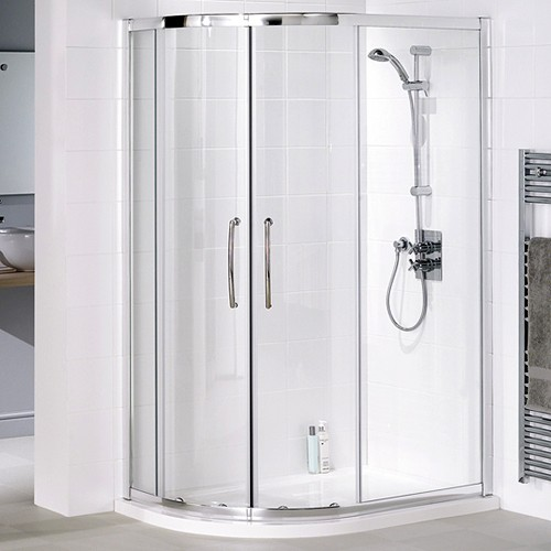 Additional image for Left Hand 900x800 Offset Quadrant Shower Enclosure & Tray.