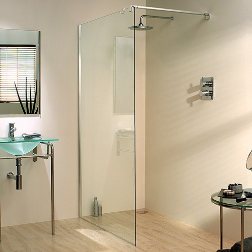 Additional image for 1000x1950 Glass Shower Screen & 900mm Arm. Left Handed.