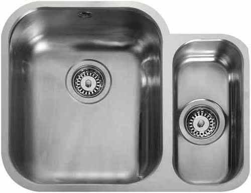 Additional image for Undermount 1.5 Bowl Steel Sink, Right Hand Bowl.