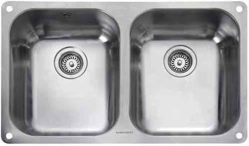 Additional image for Undermount 2.0 Bowl Steel Kitchen Sink.