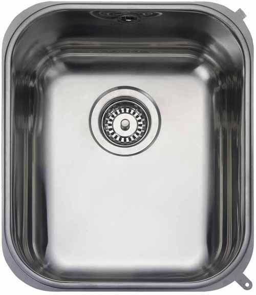 Additional image for Undermount 1.0 steel kitchen sink with BSW.