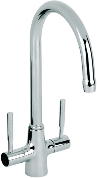 Additional image for Astor Monoblock Kitchen Tap With Swivel Spout (Chrome).