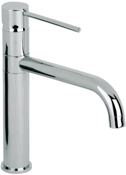 Additional image for Ascot High Rise Kitchen Mixer Tap With Swivel Spout (Chrome).