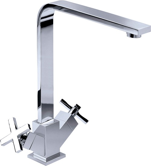 Additional image for Iggy Kitchen Mixer Tap With Swivel Spout (Chrome).