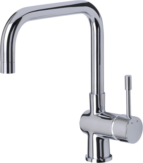 Additional image for Villa Kitchen Mixer Tap With Swivel Spout (Chrome).