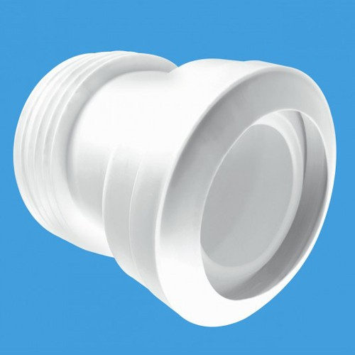 """Additional image for WC 4""""/110mm 14 Degree Toilet Pan Connector (Macfit)."""