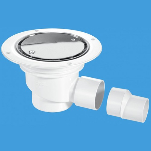 Additional image for 75mm Shower Trap Gully For Sheet Flooring.