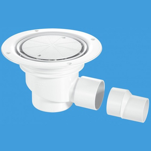 75mm Shower Trap Gully For Sheet Flooring Mcalpine