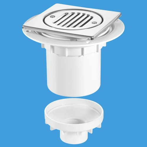 Additional image for 75mm Shower Trap Gully For Tiled Or Stone Flooring.