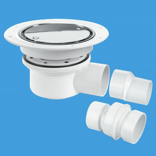 Additional image for 50mm Shower Trap Gully (Two Piece).