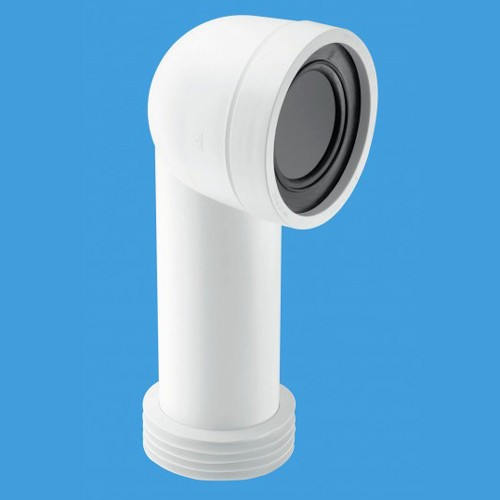 "Additional image for WC 4""/110mm 90 Degree Toilet Pan Adjustable Connector."