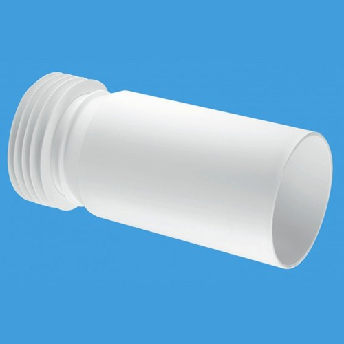 "Additional image for WC 4""/110mm Extension Pipe Adjustable Connector."