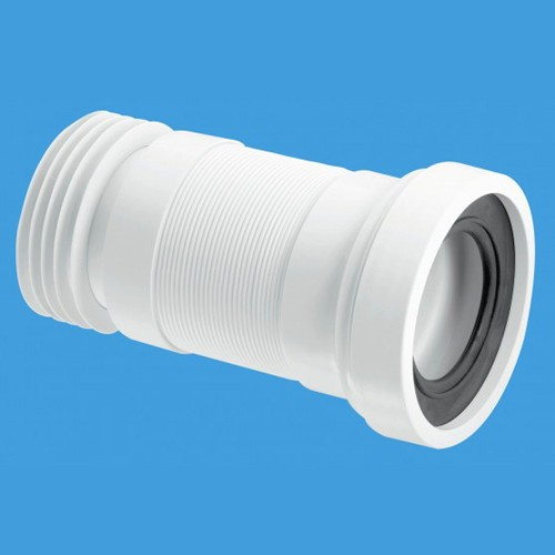 "Additional image for WC 4""/110mm Toilet Pan Flexible Connector 160mm."