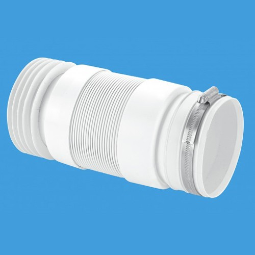 "Additional image for WC 4""/110mm BTW Toilet Pan Flexible Connector 300mm."