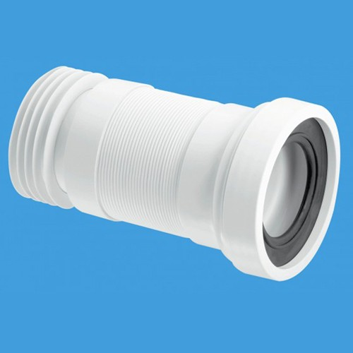 "Additional image for WC 4""/110mm Toilet Pan Flexible Connector 310mm."