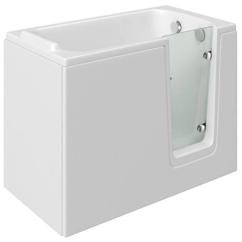 Additional image for Priya Walk In Bath With Right Hand Door (1210x650, Whirlpool).