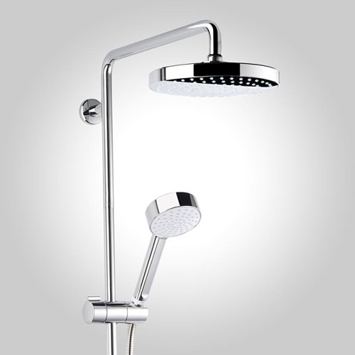 Additional image for Exposed Thermostatic Shower Valve With Rigid Riser Kit.