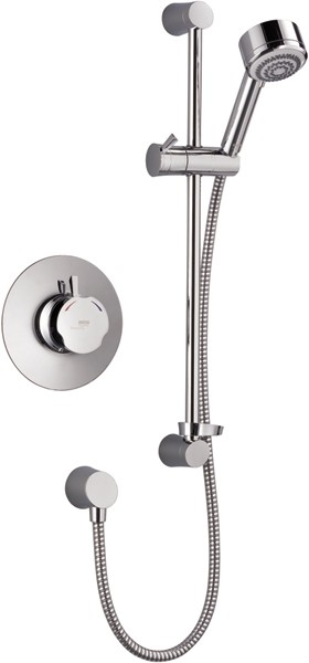 Additional image for Concealed Thermostatic Shower Valve With Shower Kit (Chrome).