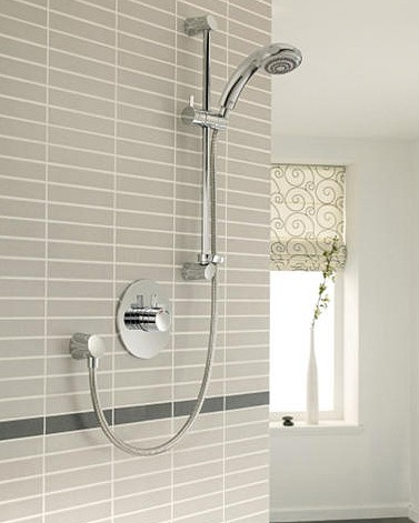 Additional image for Concealed Thermostatic Shower Valve With Eco Slide Rail Kit.