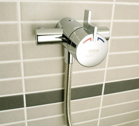 Additional image for Exposed Thermostatic Shower Valve With Eco Slide Rail Kit.