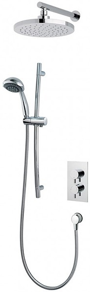 Additional image for Atmos Select Shower Valve With Slide Rail Kit & Round Head.