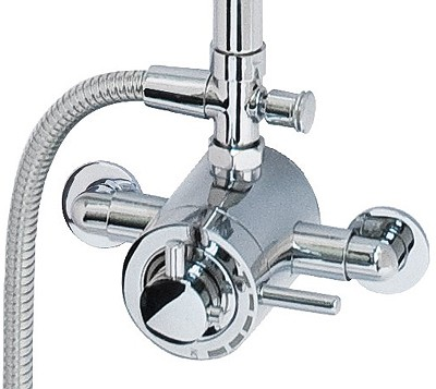 Additional image for Atmos Energy Shower Valve With Rigid Riser Kit.