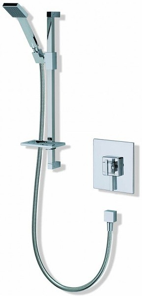 Additional image for Atmos Edge Square Shower Valve With Slide Rail Kit.