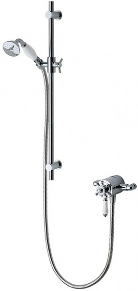 Additional image for Atmos Traditional Shower Valve With Slide Rail Kit.