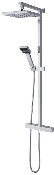 Additional image for Atmos Vision Bar Shower Valve With Rigid Riser Kit.