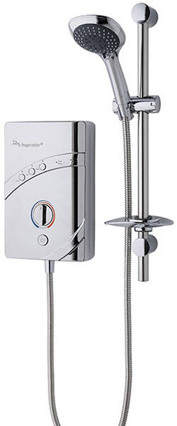 Additional image for InspiratIon QI Electric Shower (8.5kW, Chrome).