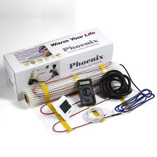 Additional image for Electric Underfloor Heating kit (3 Sq Meters Heating Mat).