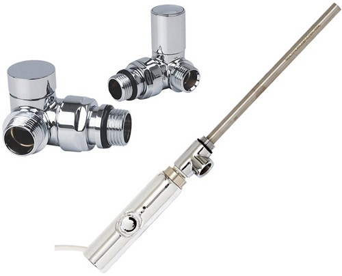 Additional image for Thermostatic Element Pack With Corner Valves  (150w).