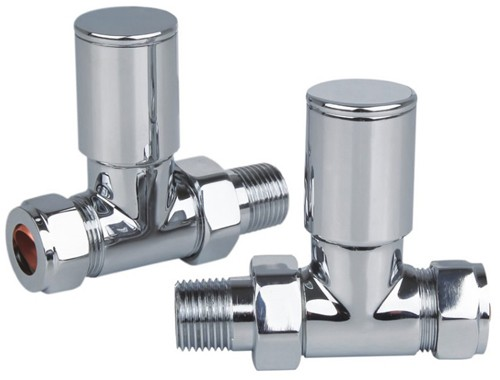 Additional image for Thermostatic Element Pack & Straight Valves  (600w).