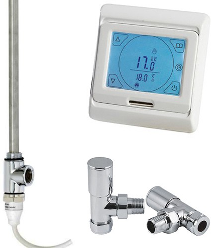 Additional image for Digital Thermostat Pack With Angled Valves (150w).