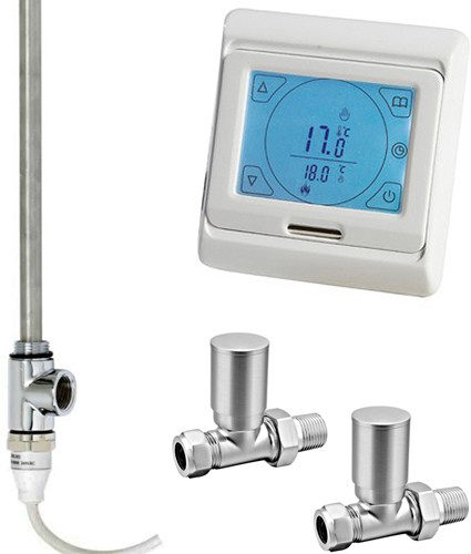 Additional image for Digital Thermostat Pack With Straight Valves (150w).