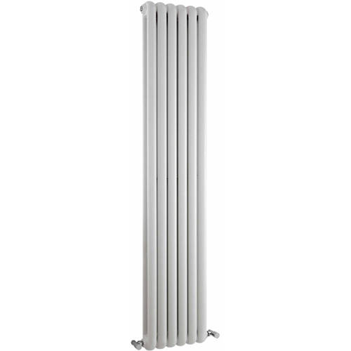 Additional image for Salvia Double Radiator. 6702 BTU (White). 383x1800mm.