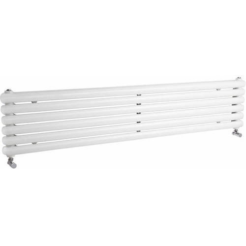 Additional image for Salvia Double Radiator. 6702 BTU (White). 1800x383mm.