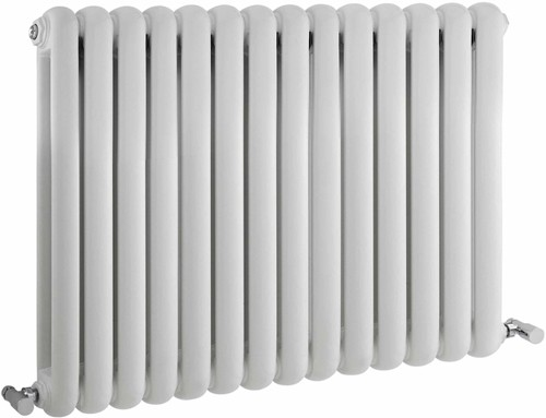 Additional image for Salvia Double Radiator. 5108 BTU (White). 863x635mm.