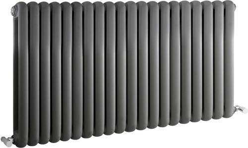 Additional image for Salvia Double Radiator. 7108 BTU (Anthracite). 1223x635mm.