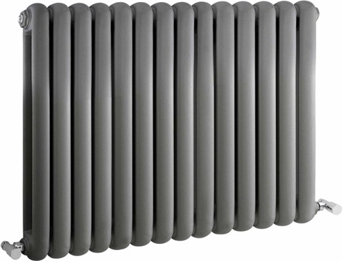 Additional image for Salvia Double Radiator. 5108 BTU (Anthracite). 863x635mm.