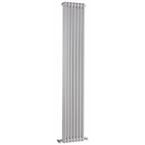 Additional image for Regency 2 Column Radiator (White). 425x1800mm. 5749 BTU.