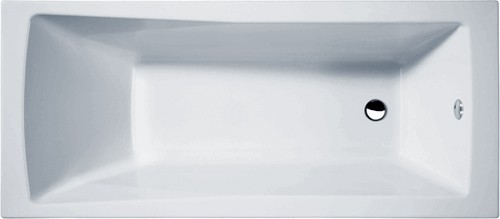 Additional image for Linton Single Ended Acrylic Bath. 1700x700mm.