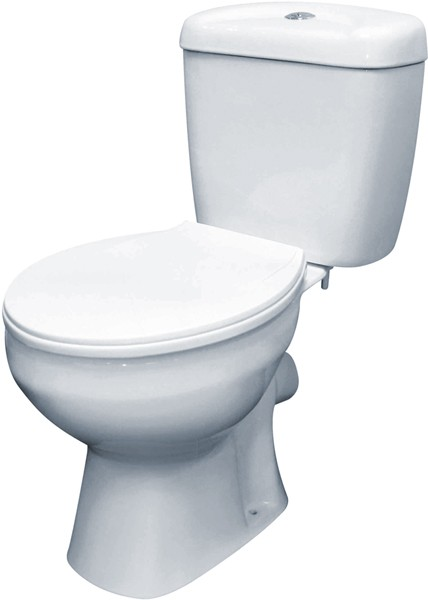 Melbourne Toilet With Push Flush Cistern Amp Soft Crown