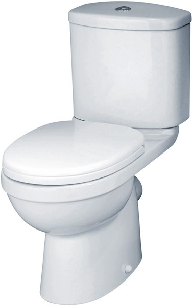 Additional image for Ivo Toilet With Push Flush Cistern & Soft Close Seat.