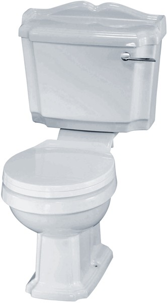 Additional image for Legend Traditional Toilet With Cistern & Soft Close Seat.