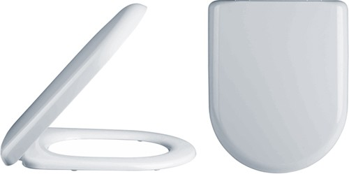 Additional image for Luxury D-Shape Soft Close Toilet Seat.