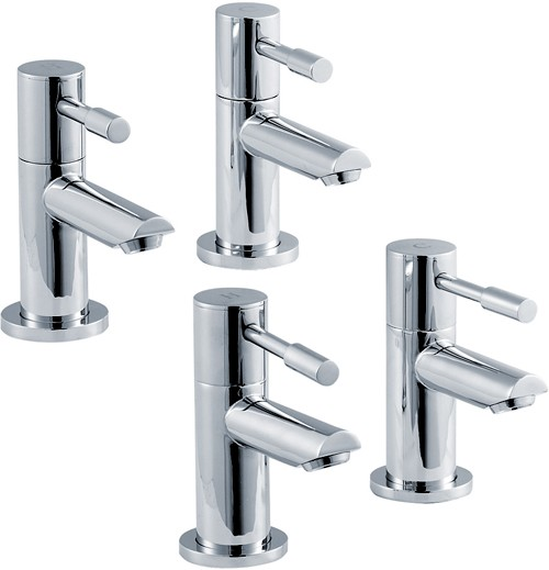 Additional image for Basin & Bath Taps Set (Chrome).