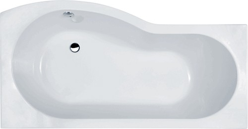 Additional image for 1500mm Shower Bath Suite, Toilet & Basin (Right Handed).